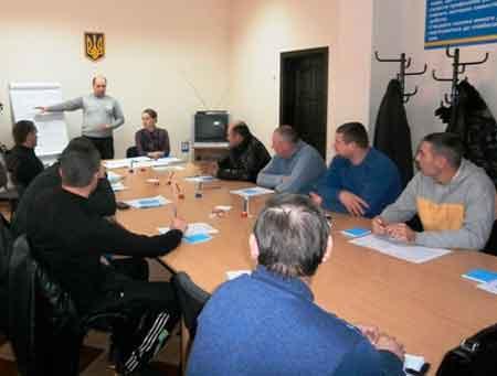 В Катеринополі проведено семінар демобілізованих учасників АТО