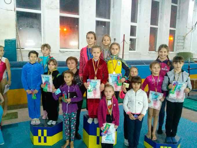 У Черкасах відбувся Відкритий чемпіонат міста зі спортивної гімнастики