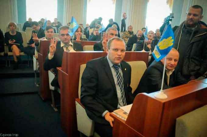 «Свобода» створила у Черкаській облраді першу націоналістичну фракцію