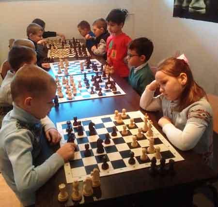 Черкасах відбулись шахові змагання серед вихованців дитячо-юнацьких клубів