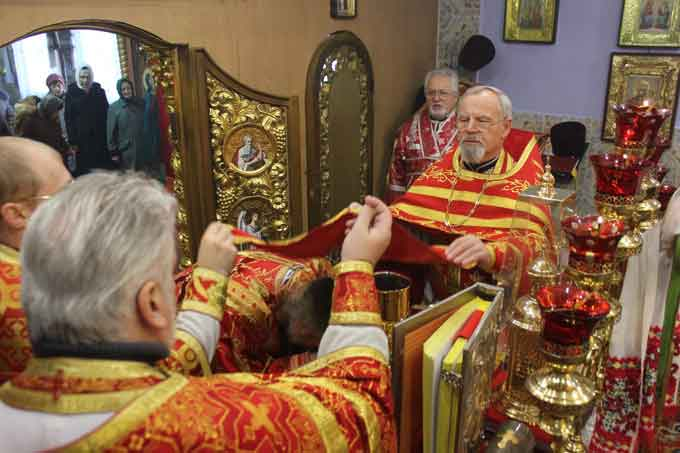 Престольний празник відбувся у Свято-Варваринському храмі