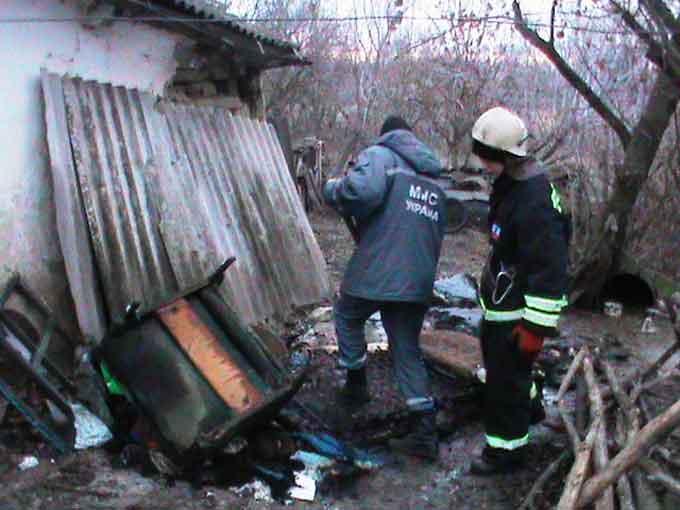 У Монастирищенському районі на пожежі загинула жінка (відео)