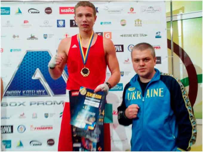 Дмитро Майдаков став триразовим чемпіоном України з боксу