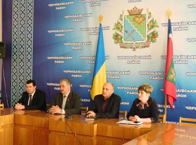 На Чорнобаївщині відбулася зустріч з представниками Національної академії державного управління при Президентові України
