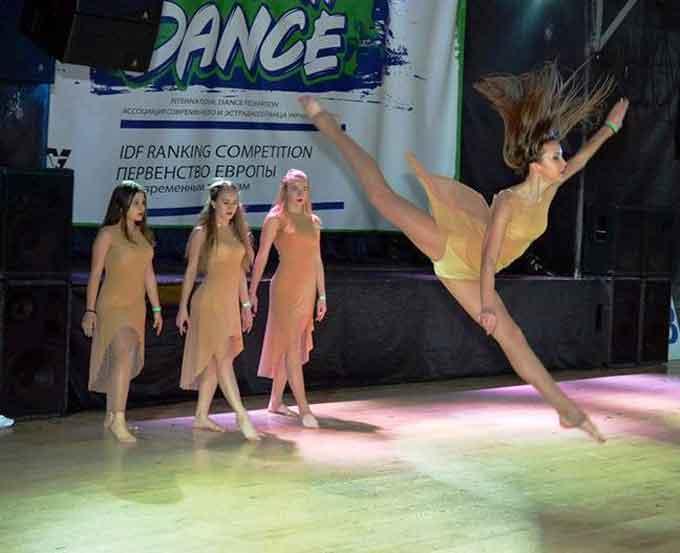 Талановиті танцюристи з Черкас успішно виступили на Першості Європи з сучасних танців