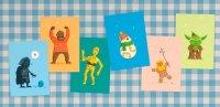 """Черкаський дизайнер створив серію листівок із героями фільму """"Зоряні війни"""""""