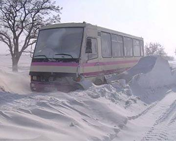 Через негоду на черкаських автостанціях відмінили деякі міжміські маршрути