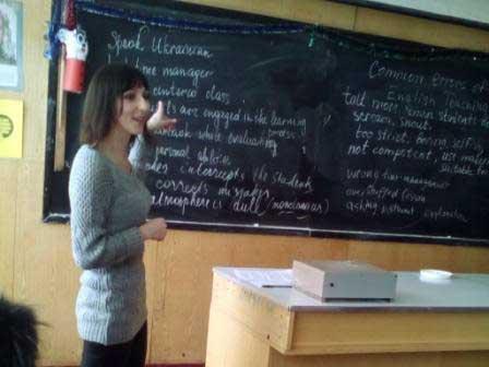 Майстер-клас для вчителів англійської мови відбувся у Червоній Слободі