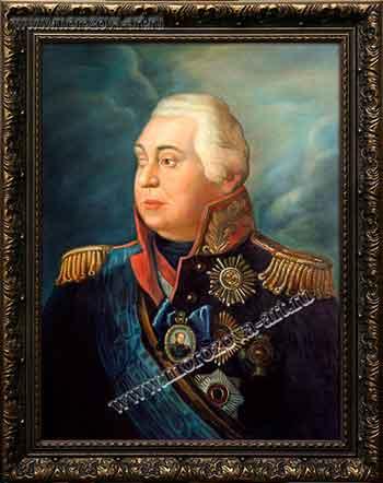 Знаменитый полководец Российской империи Михаил Илларионович Кутузов