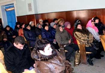 Голова обласної ради зустрівся із жителями сіл Лисянського району
