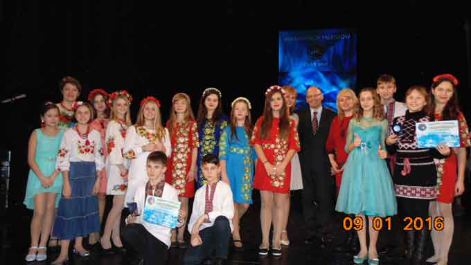Учні Чорнобаївської районної дитячої школи мистецтв під час різдвяних канікул побували на фестивалі у Польщі