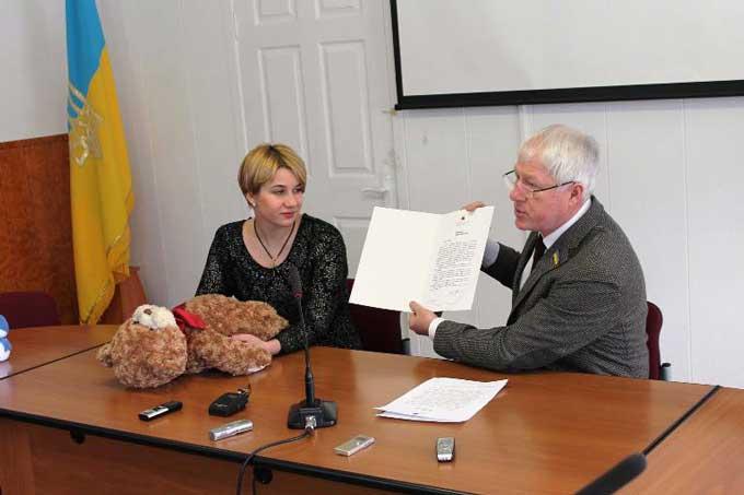 Хворого хлопчика з Черкас запросив у гості мер польського міста Бидгощ