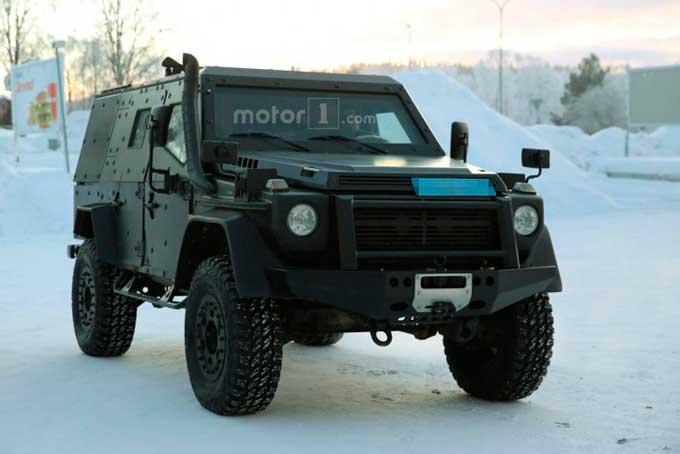Mercedes випробує військовий варіант «Гелендвагену»