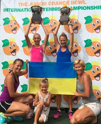 Вихованки черкаської дитячої школи тенісу вибороли перемогу у найпрестижнішому юніорському турнірі світу Orange Bowl