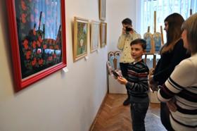 Ірина Нявчук відкрила першу виставку янголів та декоративних розписів