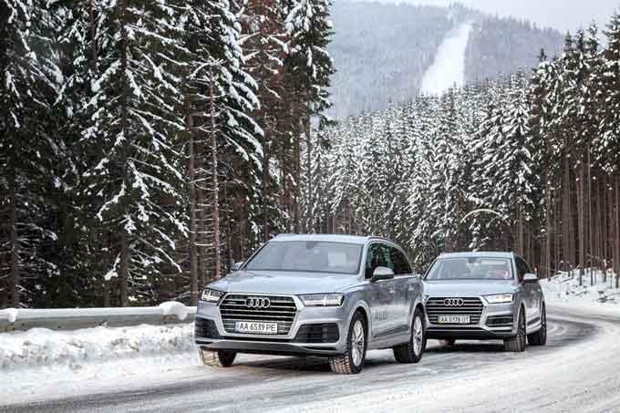 Audi Q7 підкорив «територію quattro» в Буковелі