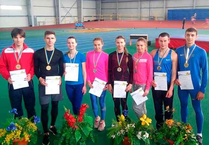 Черкаські легкоатлети вибороли золото чемпіонату України