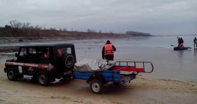 У Черкасах врятували 16 рибалок (фото)