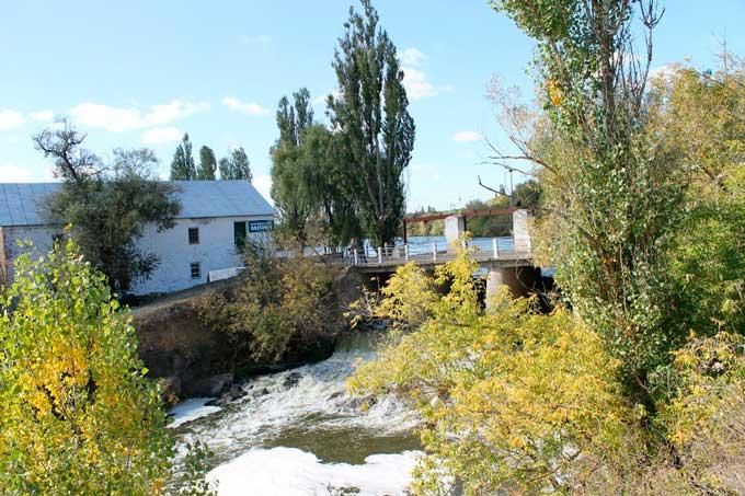 Водяний млин у селі Коржова на річці Ятрань