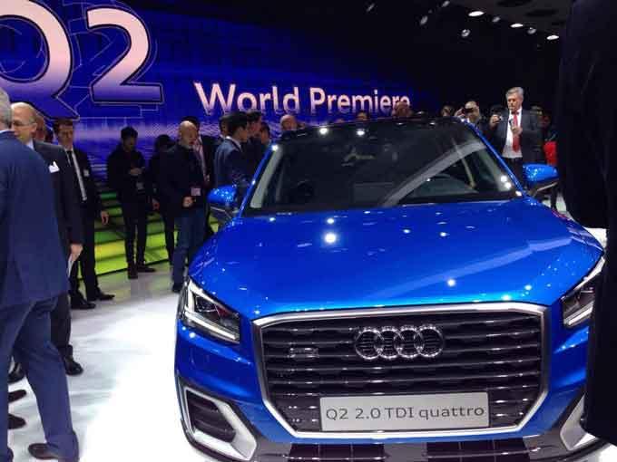 Пополнение Audi в семействе Q на Geneva International Motor Show 2016