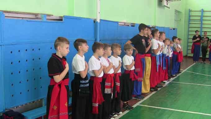 На Черкащині відбувся чемпіонат області з бойового гопака