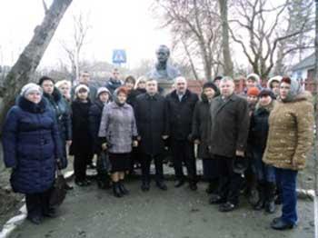 На Звенигородщині вшанували пам'ять В'ячеслава Чорновола