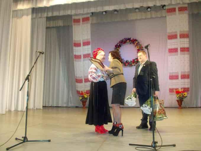 Творчий концерт народного аматорського фольклорного ансамблю «Козачка» на Чигиринщині