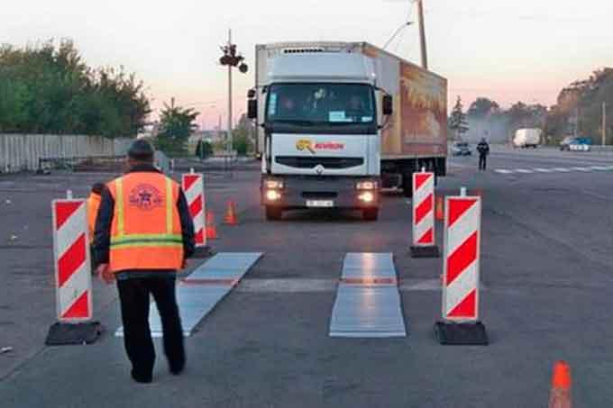 У Черкасах пропонують запровадити габаритно-ваговий контроль транспортних засобів