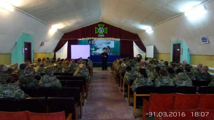 Духовна бесіда із військовими