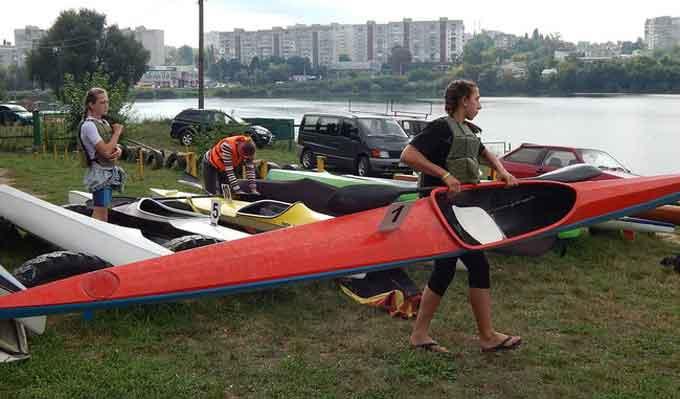 У Черкасах пройде Кубок області з веслування на байдарках і каное