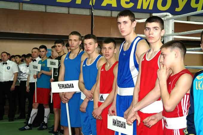 У Черкасах стартував чемпіонат України з боксу серед юніорів