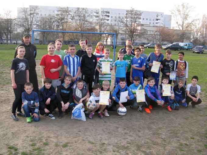 У Чигирині відбулися змагання на призи клубу «Шкіряний м'яч»