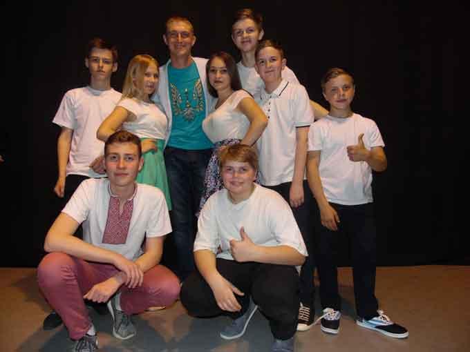 Чорнобаївська команда гідно представила своє містечко у Черкаській лізі КВН