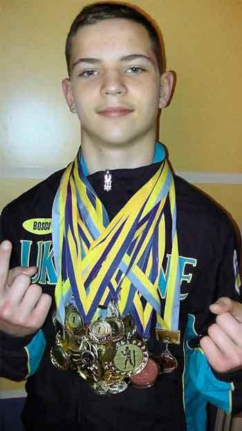 Черкаський школяр став триразовим чемпіоном України