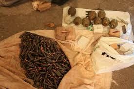 У жителя міста Кам'янка вилучили боєприпаси