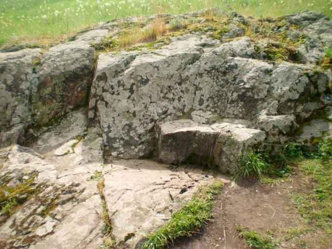 Кам'яні сліди в селі Коржовий Кут на Уманщині