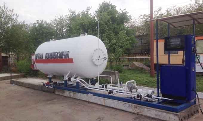 В Черкасах припинили незаконну роботу газової заправки