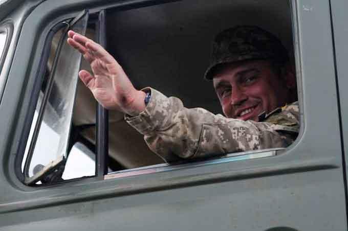 Солдат Більда повернувся на ротацію із зони АТО