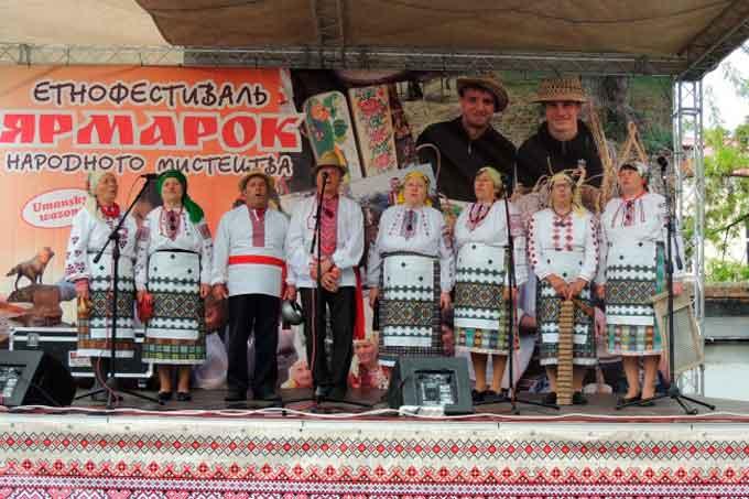 На Уманщині відбувся етнофестиваль «Ярмарок народного мистецтва»