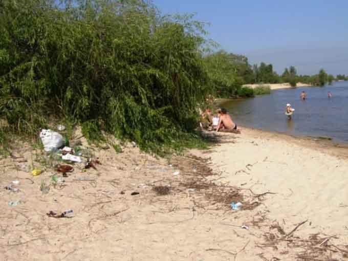Чиновник міськради пропонує організувати «Дирекцію пляжів» у Черкасах