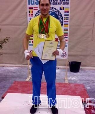 Уманський студент став чемпіоном світу з гирьового спорту