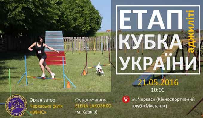 У Черкасах проведуть етап Кубка України з аджиліті