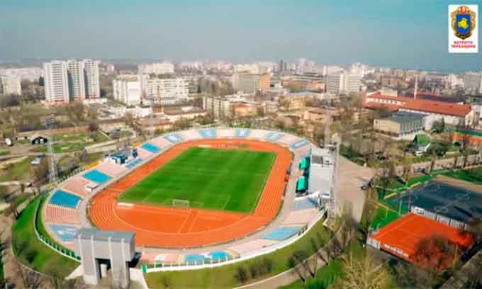 Місто виділить на реконструкцію стадіону 1,3 млн. грн.