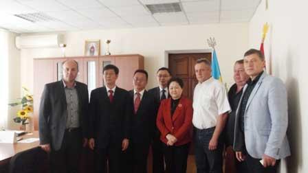 На Корсунщину завітала делегація з китайського міста Ваньчжоу