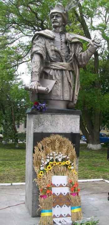 У Лисянці відкрили пам'ятник батькові Гетьмана Богдана Хмельницького