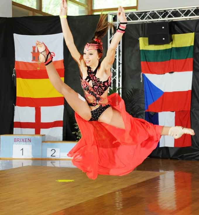 Юні танцюристи з Черкас достойно виступили на Чемпіонаті Світу