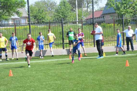В Білозірській сільській академії футболу для дітей та юнацтва виглядали таланти