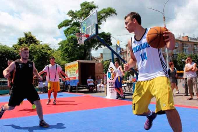 У Черкасах пройшов чемпіонат з баскетболу 3х3 -