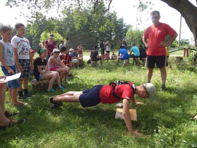 У селі Чорнявка розпочалася районна гра-випробування