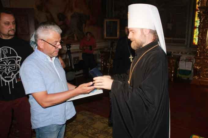 Митрополит Іоан вручив церковну нагороду народному депутату Юрію Бублику